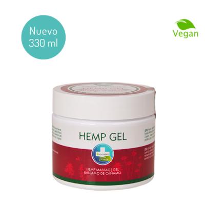 HEMP GEL crema cannabis alivio dolor espalda musculos articular masaje