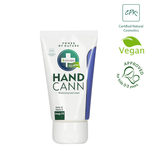 crema de cannabis Repara y protege las manos secas para combatir la aparición de grietas con los productos para el cuidado de manos