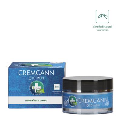 crema facial q10 de cannabis para hombre