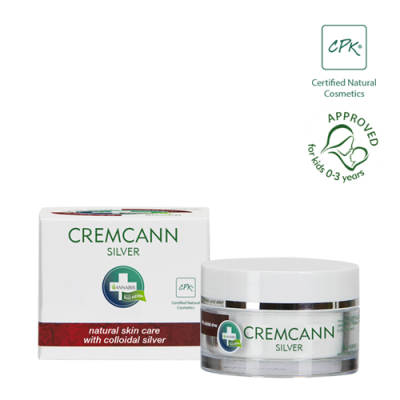 cremcann silver es una crema hidratante de cannabis para el acné