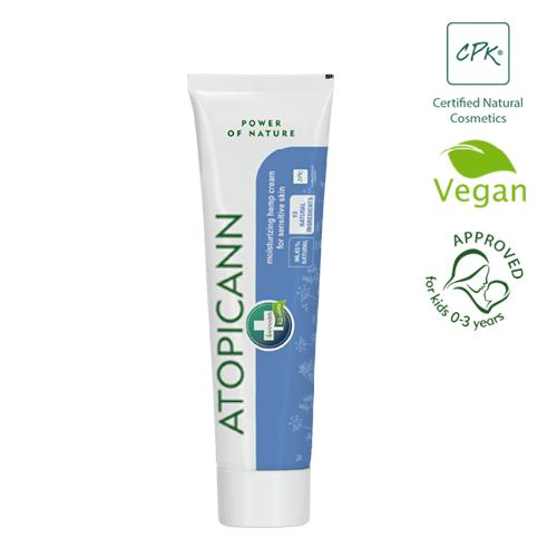 Crema natural de cáñamo para piel atópica o con psoriasis