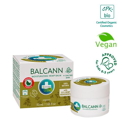 Balcann hemp crema de cannabis orgánica y ecológica concentrada piel atopica psoriasis